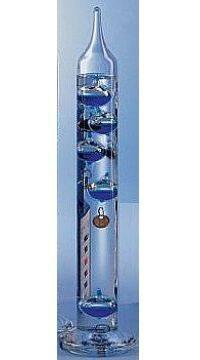 Galilei hőmérő-106215 kék 28 cm  011424215