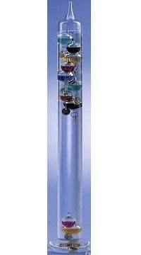 Galilei hőmérő-106443 vegyes színek 52 cm  011424443