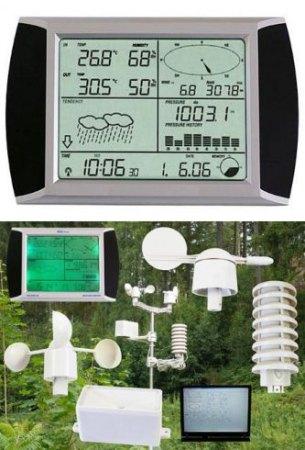 FWS 20 02041 Érintőképernyős meteorológiai állomás 011432041