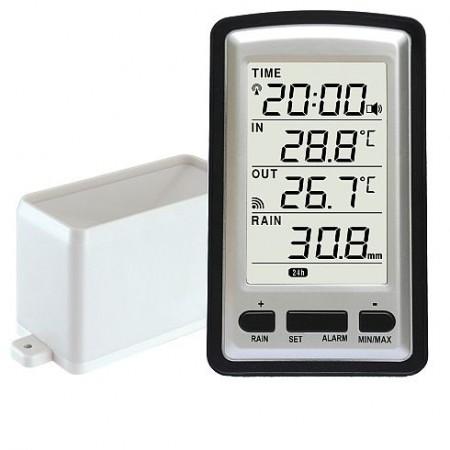 WH-0530, 02042  Digitális csapadékmérő hőmérővel  011432042