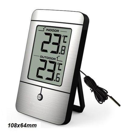 KW-219 - Digitális külső-belső hőmérő, max-min memóriával 011432219
