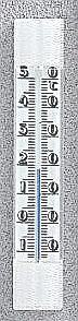 Szobahőmérő, műanyag fehér - 101855