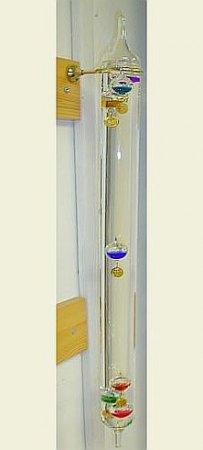 Galilei hőmérő-60 cm, falra függeszthető