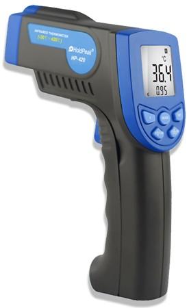 HP-420, Infravörös hőmérsékletmérő, -30°C...+420°C   210000420