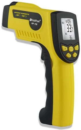 HP-720, Infravörös hőmérsékletmérő, -50°C/+720°C 210000720