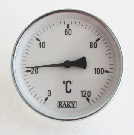 r0120 Csőre szerelhető bimetál hőmérő  211000015