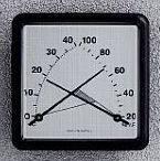 Kombinált páratartalom és hőmérsékletmérő-301387