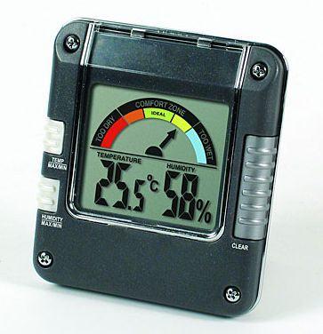 Digitális páramérő, hőmérővel - 306118