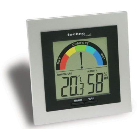 Digitális páramérő, hőmérővel