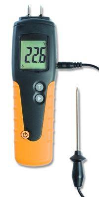 A 341 Fa nedvességmérő hőmérséklet mérővel