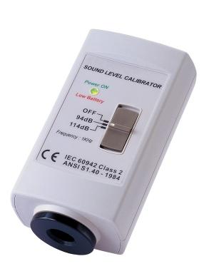 Zajszintmérő Kalibrátor 94/114 dB