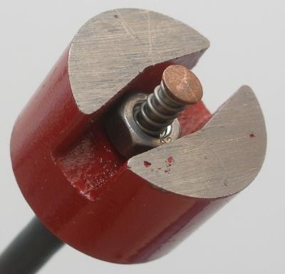 Mágneses felületi hőmérséklet érzékelő, Typ K, Kl. 1 -65...+200°C 26,0 mm