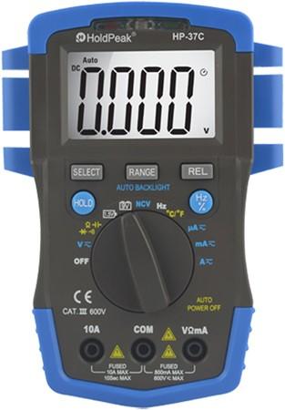 HP-37C, Digitális multiméter, VDC,VAC,ADC,AAC,ellenállás, kapacitás, hőmérséklet, frekvencia,TRMS