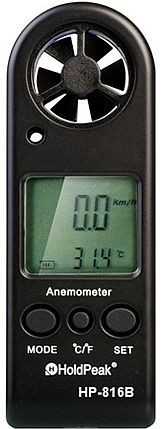 HP 816B, Digitális szélsebesség mérő hőmérővel