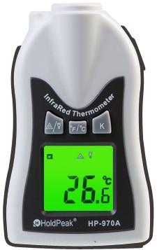 HP-970A, Kézi, infravörös hőmérsékletmérő, -30°C/+275°C