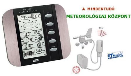 WS 1600 Profi meteorológiai központ