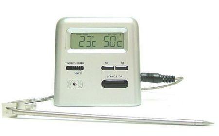 KW-8527, Digitális sütőhőmérő időmérővel