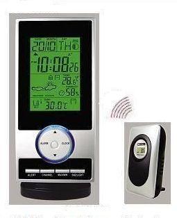 WH-2046 Digitális időjárás állomás hőmérséklet riasztással