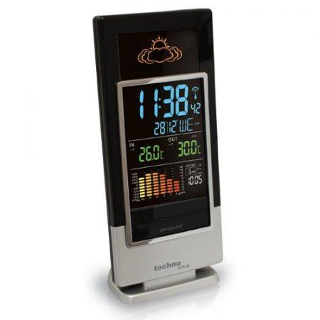 WS-6502 Időjárás állomás, színes LED kijelzővel