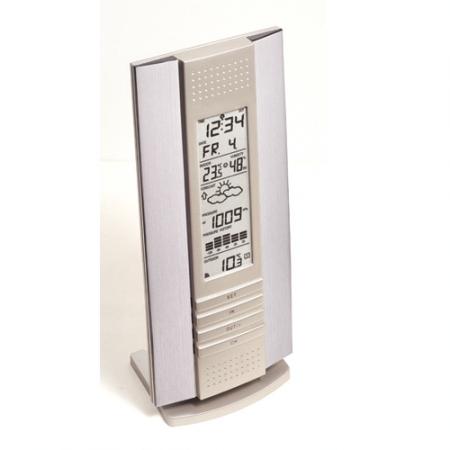 WS 7394 - Digitális időjárás állomás - aluminium design