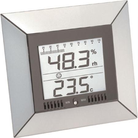 WS 9410, Hőmérséklet - Páratartalom mérő nagyméretű kijelzővel