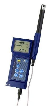 P670, 2 csatornás professzionális mérőműszer
