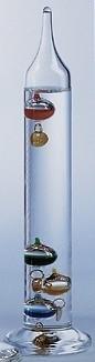 Galilei hőmérő-106100 vegyes színek 18 cm  011424209