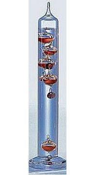 Galilei hőmérő-106212 konyak 28 cm  011424212
