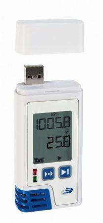 LOG220 - PDF, Hőmérséklet, páratartalom és légnyomás mérésadatgyűjtő