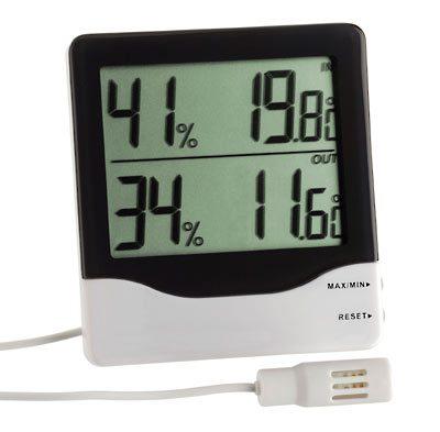 30.5013 Digitális külső / belső hőmérséklet és páratartalom mérő  011431013