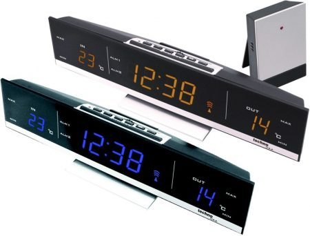 WS-6810, LED - Hőmérséklet állomás  011432331