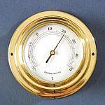 TH-06751, Beépíthető réz színű hőmérő
